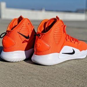Nike Shoes - Nike Hyperdunk X TB orange white size 11 - new